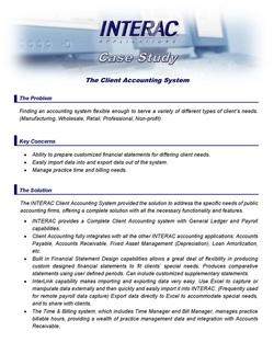 Client Accounting System