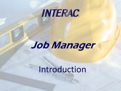 Job Manager Intro